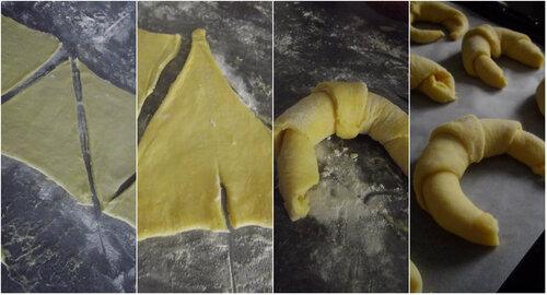 Croissant Pur Beurre { photo etape...}