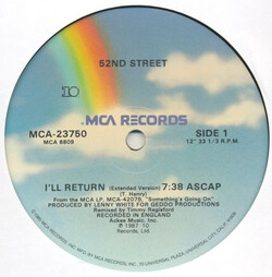 52nd Street - I'll Return