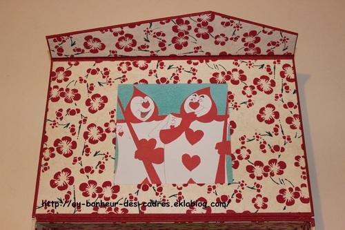 Déco de mariage : Porte  alliances original et boite à souvenirs