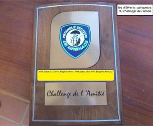 1er Tour du 5 ième Challenge de l'Amitié du Secteur de Grenade -Poule A-