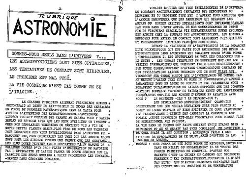 Microscope N°6 magnetisme astronomie et vie E.T intelligente