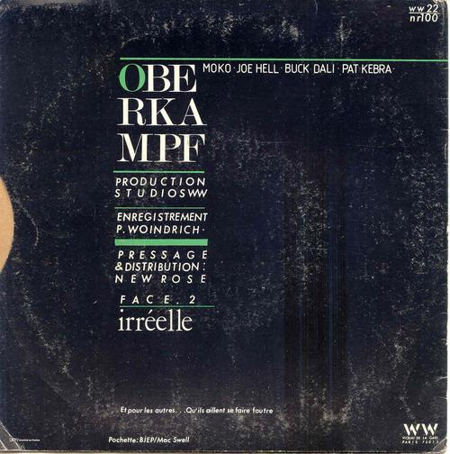 Ze Frenche Ouique - saison 2 jour 3 - Les Frenchy Singlés n°5: Oberkampf - Linda/Irréelle (1983)
