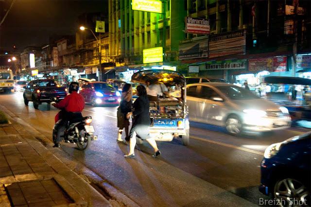 10 bonnes raisons de voyager - Bangkok  l'animation nocturne