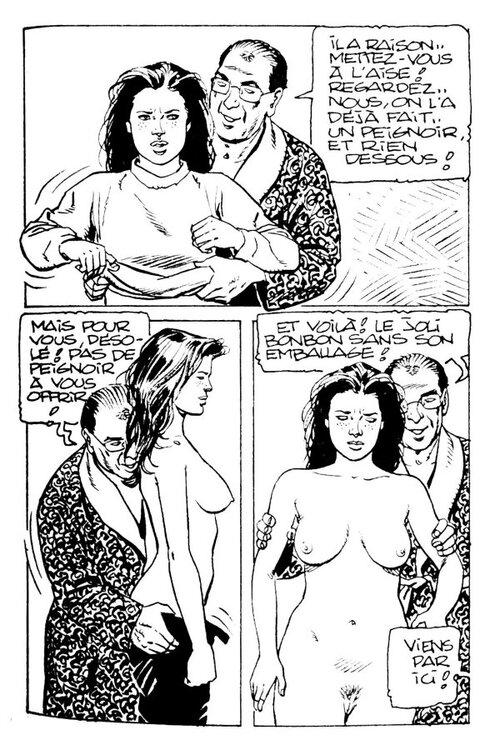 Chantage des deux femmes