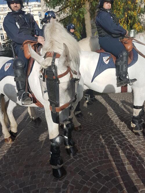 C'est la création de la 4ème brigade équestre de la Police Nationale en France