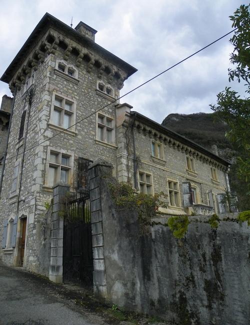 Le château d'Aigny