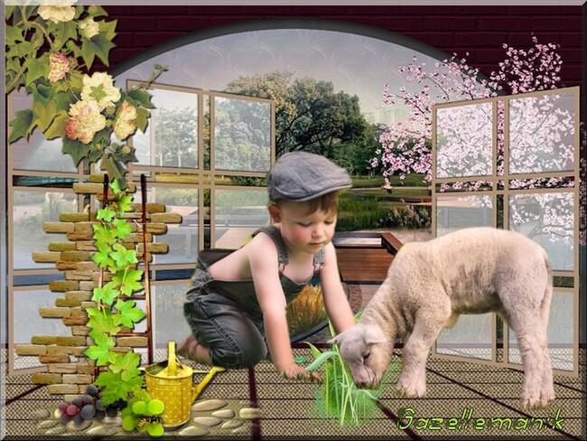 Défi resoya et Cerise Déco  puis V'là l'printemps !!! spécial printemps pour vous !