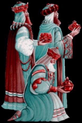 Rois Mages-Crêches  Série 1   ♥