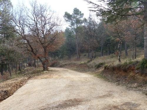 Au pied du grand versant du Luberon (Ménerbes - 84)