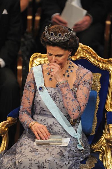 Silvia grippée aux Prix Nobel