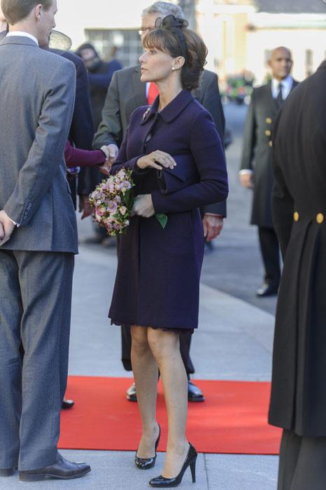 Marie et Mary à l'ouverture du parlement