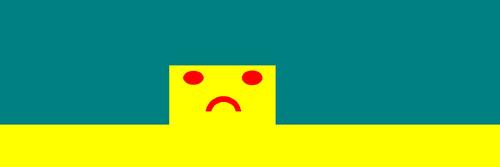 Un visage triste