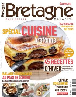 """Jean Claude Spegagne et Laurent Bacquer, deux """"accros à la patate"""" dans Bretagne Magazine N° Spécial Oct 2012"""