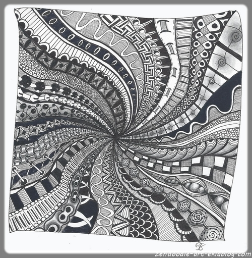 Zendoodle : Black Hole 1