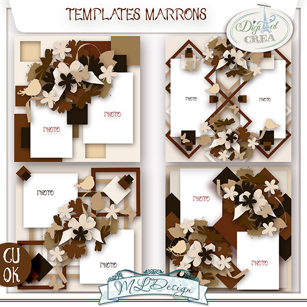 Templates Marrons by MLDesign