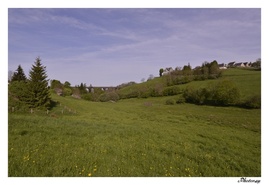 Lugarde - Cantal - Auvergne - 11 Mai 2015
