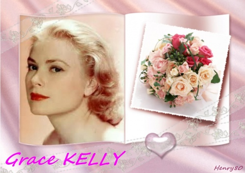 GRACE KELLY Princesse de Monaco