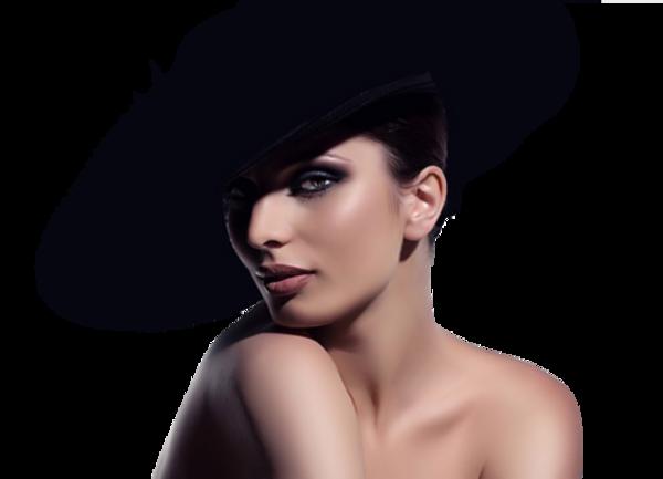 Femmes chapeautées