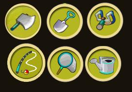 Les outils en argent