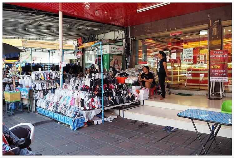 Marché de Pattaya. Thaïlande.