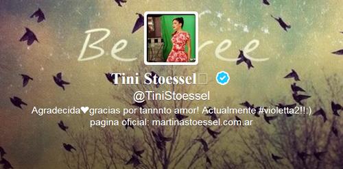 Le Twitter de Tini