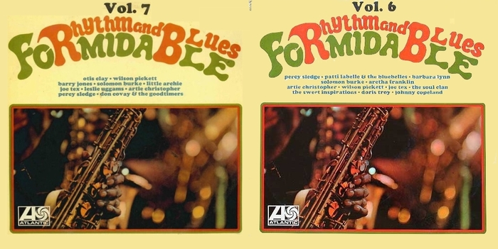 "Série "" Formidable Rhythm & Blues Vol 6 & 7 "" Atlantic Records 0920049-50 [ FR ]"