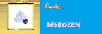 Encore de nouveaux codes !!