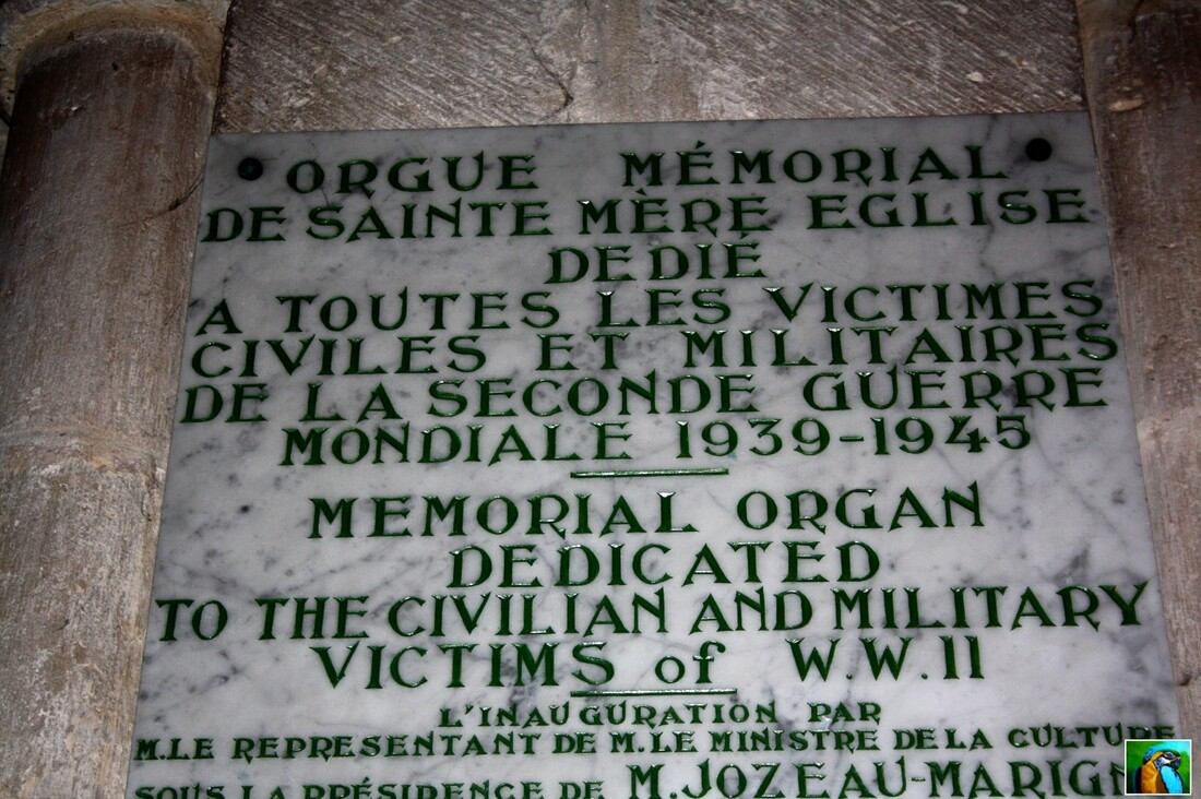 Normandie mai 2017 : SAINTE  MERE  L'EGLISE