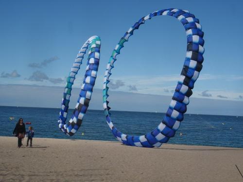 Le ballet des ronds bleus au festi vent