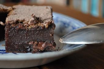 Brownie au chocolat au lait