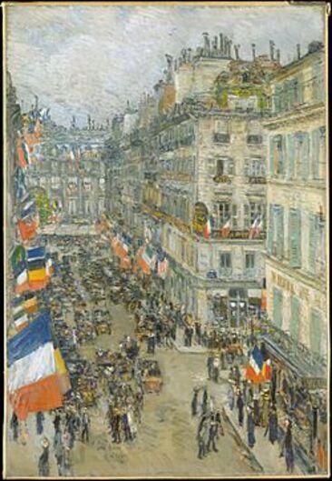 La fête nationale française : le « 14 Juillet ».