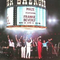 Maze Feat. Frankie Beverly - Live In New Orleans - Complete LP