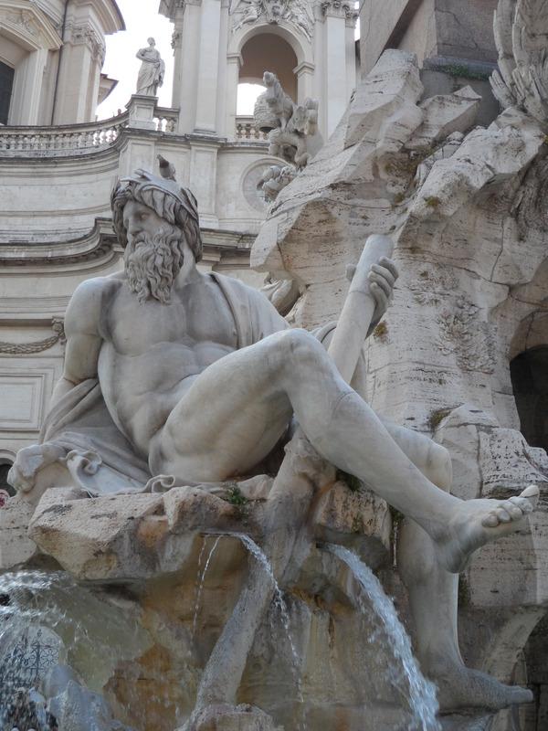 LA  PLACE  NAVONE  A  ROME  EN  ITALIE