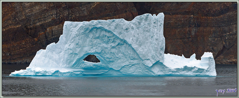 Le dernier iceberg de la journée - Navigation vers Kullorsuaq - Upernavik - Groenland