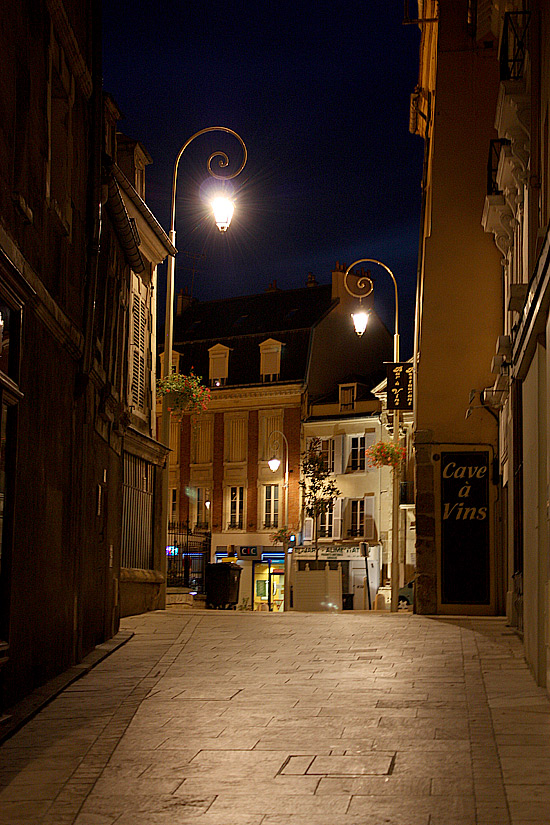 Pontoise, un soir d'hiver 20....