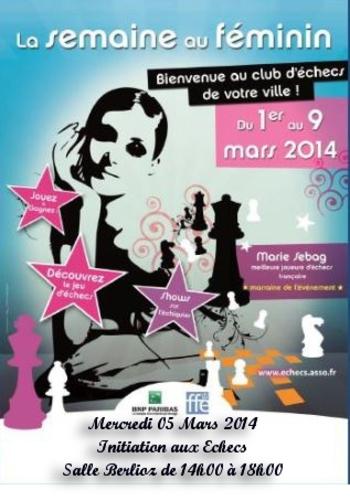 Affiche La semaine au féminin modifiée 12 fev 2014