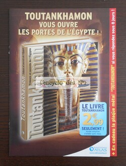"Collection "" Trésors et secrets de l'Egypte "" - Test"