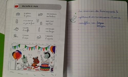 Mon cahier d'écrivain avec Ludo