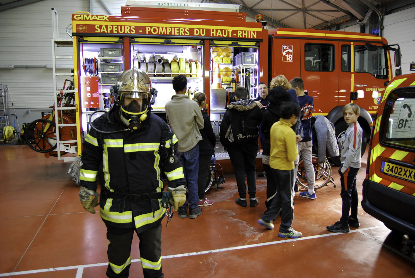 pompiers lutterbach ulis college