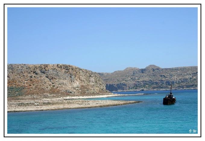 Crète : l'ile de Gramvousa
