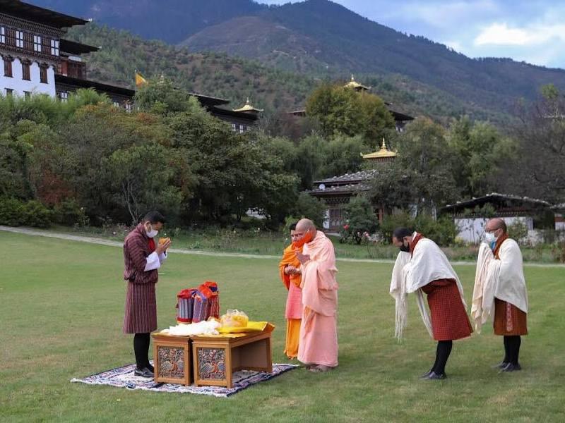 Devi Panchayan Mandir à Thimphu.