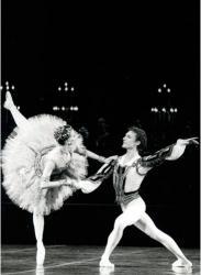 Manuel Legris et Fanny Gaïda dans Raymonda