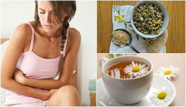 Traiter le syndrome de l'intestin irritable à l'aide d'une infusion au gingembre et à la camomille