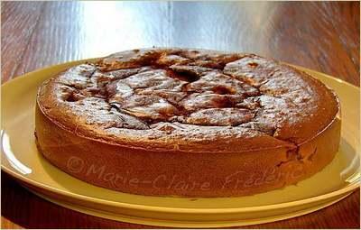 Gâteau fondant aux figues et au miel de Marie Claire Frédéric