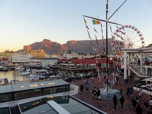 Cape Town; le waterfront