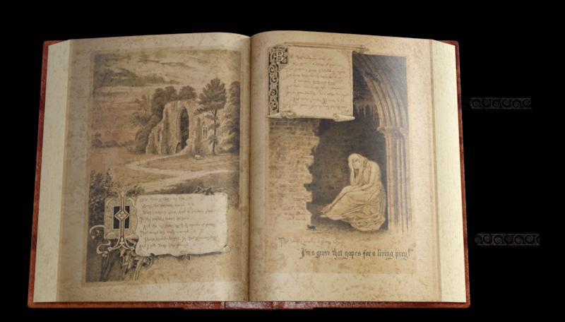 Tube de vieux livre (poser-image)