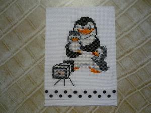 "Ehange ATC: ""Quoi de N' Oeuf ? pingouins"""