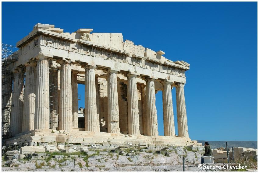 Athénes - Le Parthénon