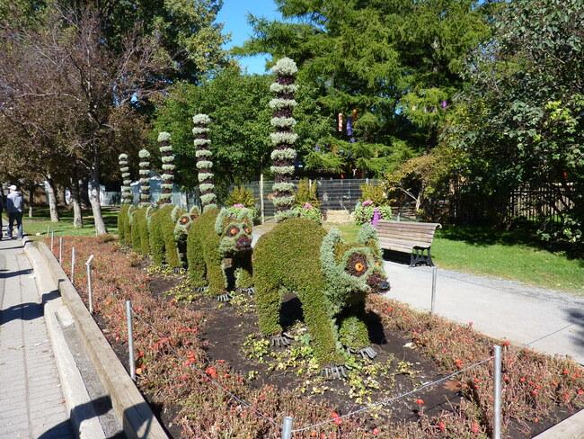 Les Mosaïcultures du parc botanique de Montréal