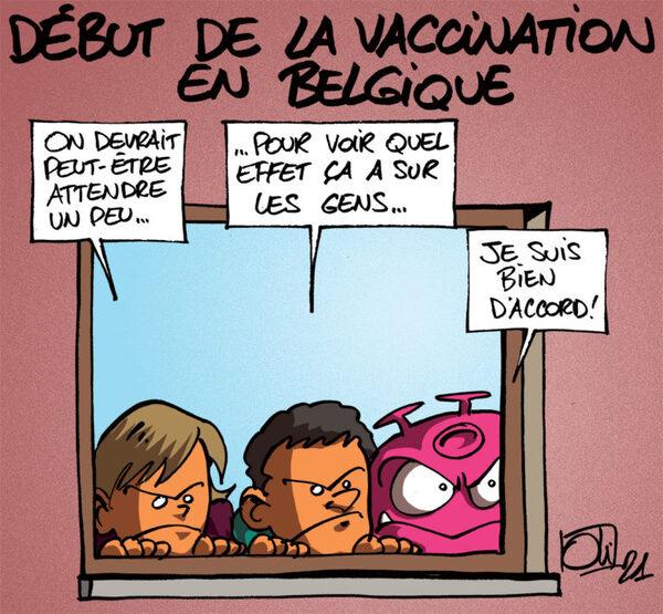 Rions à propos des vaccins....